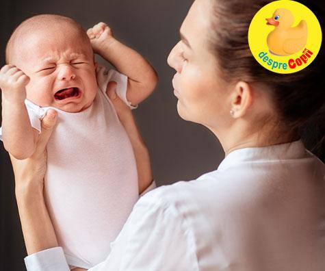 Ce putem face daca bebelusul are colici?