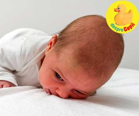 Ce stie sa faca bebelusul la 1 luna: Iata cum creste, cat doarme si cum se dezvolta emotional
