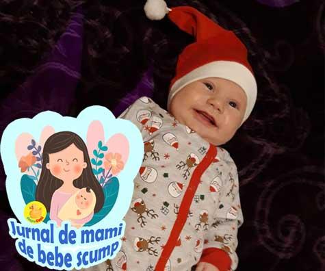 Primele sarbatori de iarna cu bebe si salt in dezvoltarea abilitatilor motrice fine - jurnal de mami de bebe scump