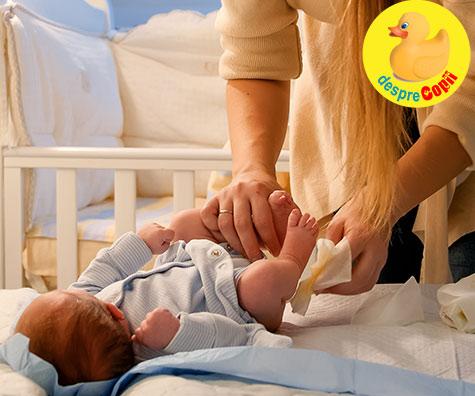 Ce putem face daca bebelusul are diaree sau este constipat?
