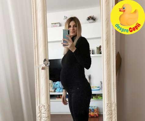 Saptamana 30 de sarcina cu bebe 2 - jurnal de sarcina