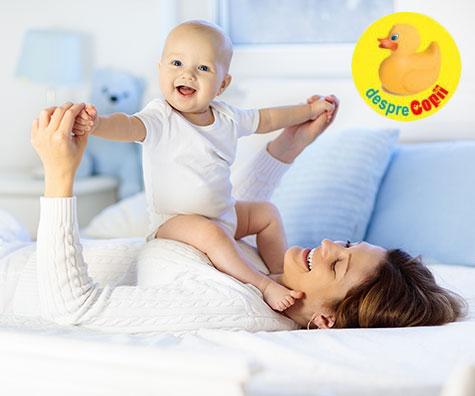 Un bebelus fericit este cel mai important inceput al vietii sale - iata niste sfaturi utile