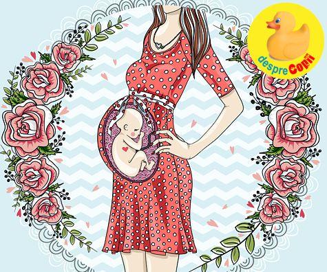 Esti insarcinata? Iata 9 lucruri care iti fac bebelusul fericit in burtica