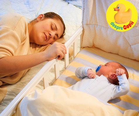 Tati nu vrea bebelusul in dormitor, dar mami il vrea! Ce facem? 10 sfaturi de ajutor.
