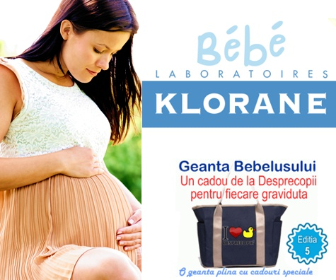 Klorane Bebe vine la Geanta Bebelusului 5