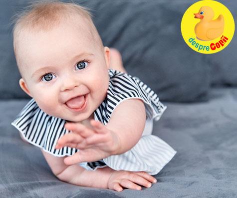 Ce stie sa faca bebelusul la 7 LUNI: Iata cat doarme si cum se dezvolta emotional