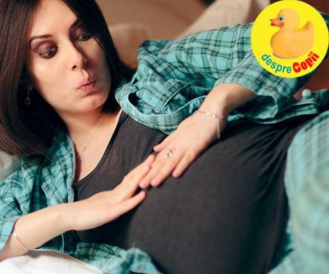 Bebelina activa, mamica linistita in saptamana 27 - jurnal de sarcina