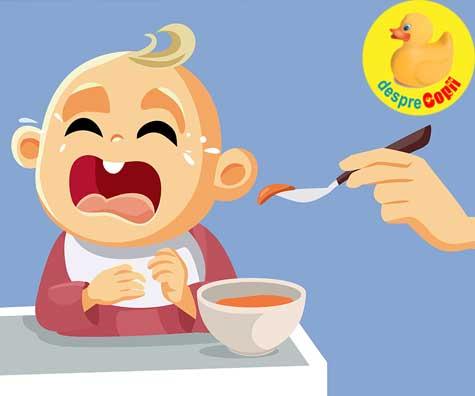Bebe e mofturos la mancare? Iata 7 moduri in care ii poti schimba preferintele culinare