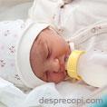 Bebelusii care primesc formula de lapte in spital/maternitate au sanse mai mari sa refuze alaptarea