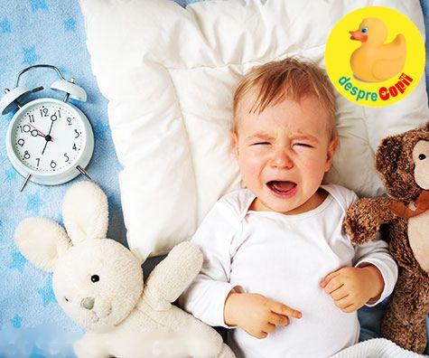 Bebelusul e agitat? Iata 10 motive pentru care nu isi gaseste linistea si nu poate dormi