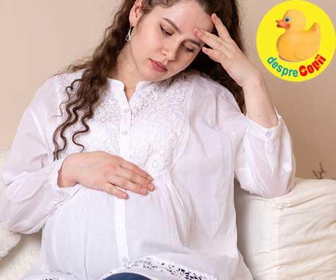 Bebe nu s-a intors: oare voi naste prin cezariana?  - jurnal de sarcina