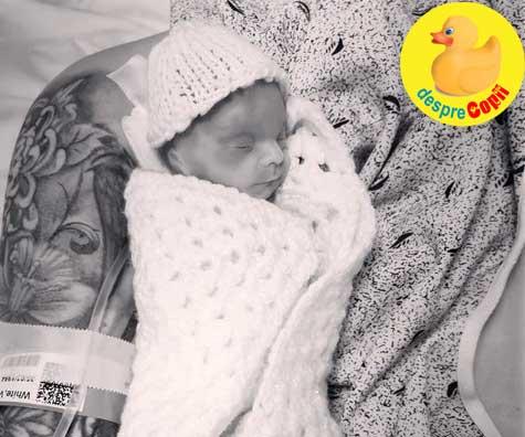 Un bebelus nascut prea devreme pentru a supravietui: cand ramai cu inima franta