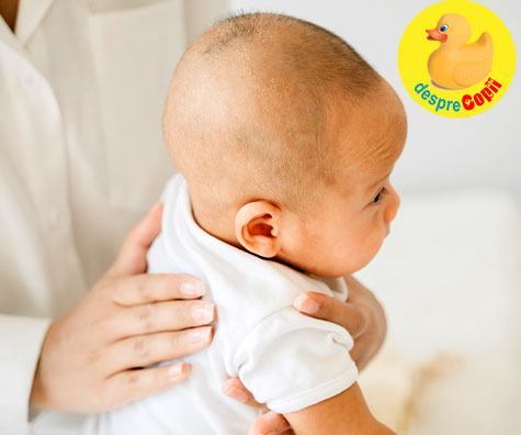 Bebe sughite: ce facem si cum procedam - sfatul medicului pediatru