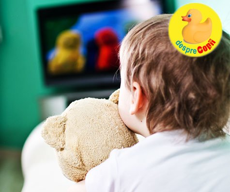 Ce doza de televizor are voie bebelusul tau?