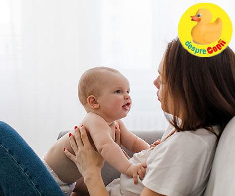 Primele cuvinte ale bebelusului. Iata care sunt etapele in dezvoltarea vorbirii