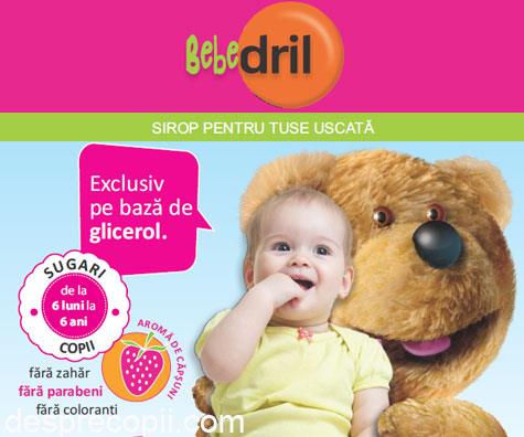 Cum alinam tusea uscata la bebelusi?