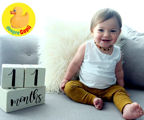 Bebelusul de 11 luni
