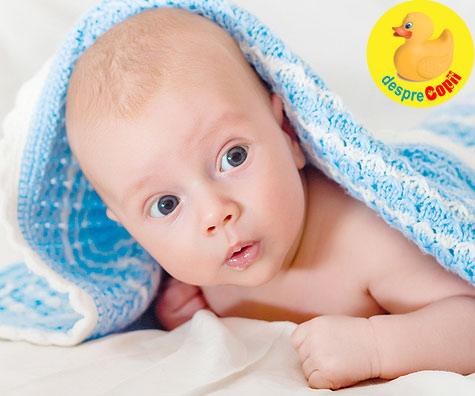 Programul unui bebelus de 2 luni: cand doarme si cand mananca