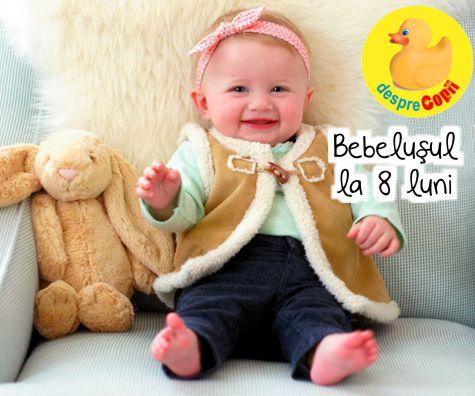 Bebelusul de 8 luni