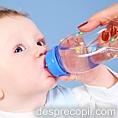 Cand dam bebelusului apa?
