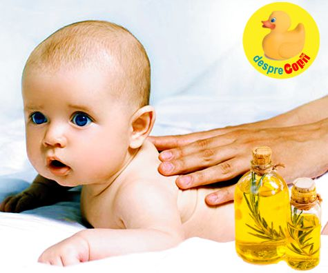 Bebelusul si aromaterapia:ce trebuie sa stii