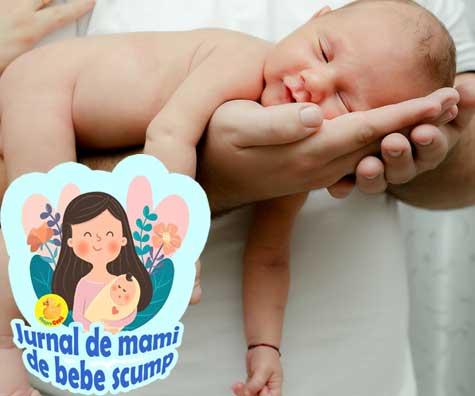 Bebe avea obstructie de canal lacrimal. Iata experienta noastra - jurnal de mami de bebe