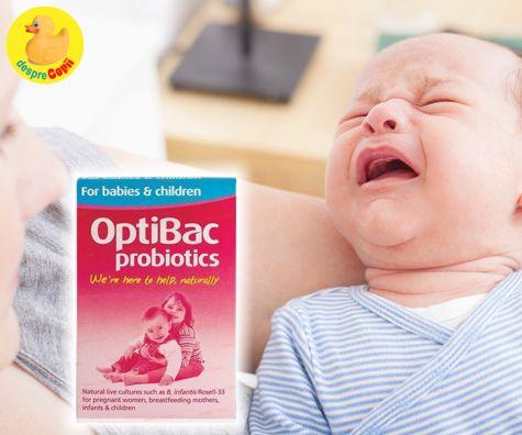 Cum pot ajuta bebelusul cand are colici?
