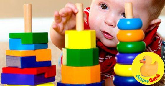 Cum invatam bebelusul sa distinga culorile