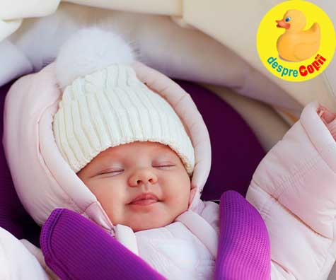 Somnul bebelusului: aerul proaspat de afara il va ajuta sa doarma mai bine - iata ce trebuie sa stii draga mami