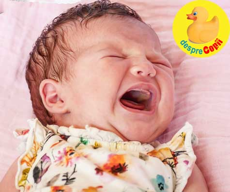 Cum stim ca bebelusului ii e foame si cum este plansul de foame al bebelusului? Iata cum plange si cand e flamand.