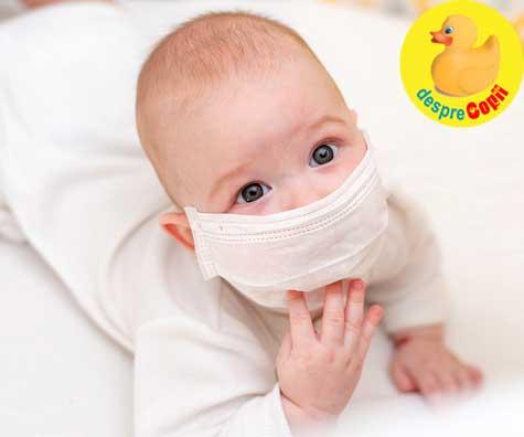Bebelusul meu s-a imbolnavit de COVID-19 la cresa - iata povestea unei mamici