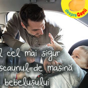Care este locul cel mai sigur pentru scaunul de masina al bebelusului?