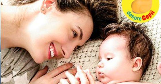 Prima lectie de viata a bebelusului: lectia iubirii