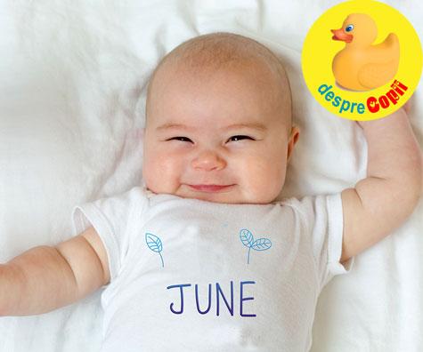 Bebelusii nascuti in Iunie: iata ce ii face atat de speciali