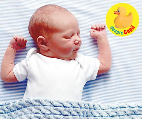 Invata-ti bebelusul sa doarma in numai 7 zile: diagrama lectiei si sfaturi de somn