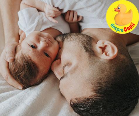 Bebelusii care seamana cu tatal lor sunt mai sanatosi iar motivul este interesant