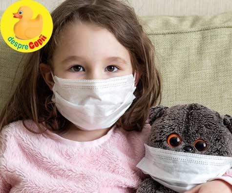 Copiii trebuie sa poarte masti de protectie in public? Iata parerea specialistilor