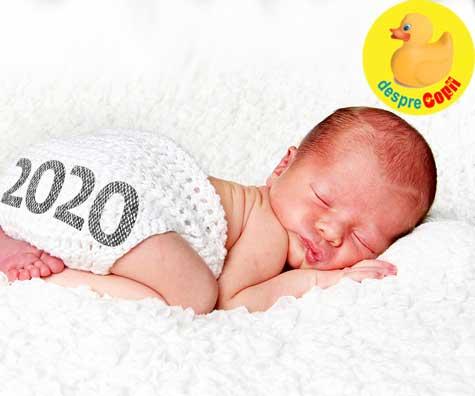 Lucruri interesante despre bebelusii nascuti in 2020 - jurnal de sarcina
