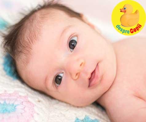 Bebelusul de 5 saptamani: dezvoltare, sfaturi si primul puseu de crestere