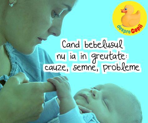 Cand bebelusul nu ia in greutate: semnale, cauze, sfaturi