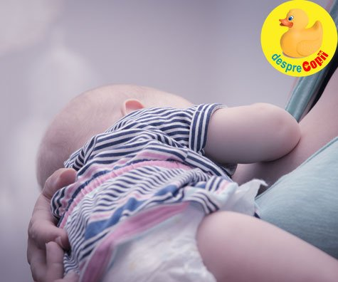 Bebelusul refuza sanul? Poate are o raceala si nu poate respira bine - iata ce ai de facut