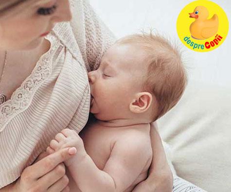 Bebelusul refuza sanul? Modificarile hormonale ale mamei pot fi cauza