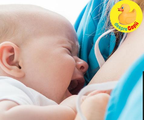 Bebelusul refuza sanul? Poate ca nu ii place ce ai mancat