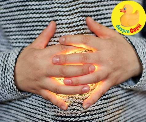 Biluta magica din burtica: sau cand copilul isi doreste o surioara - jurnal de sarcina