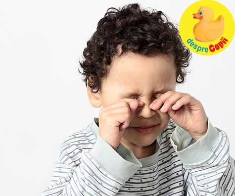 Ce este blefarita la copii?