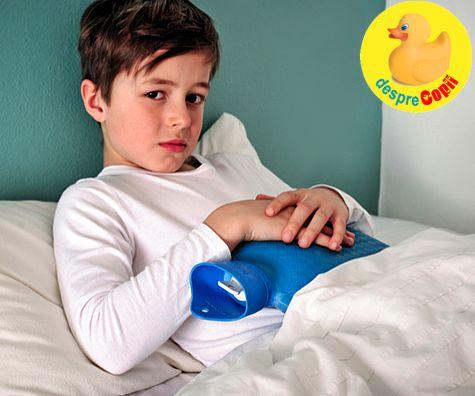 5 boli pe care copiii le iau de la scoala sau gradinita