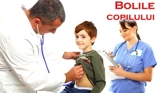 Bolile copilului: ghid complet pentru parinti