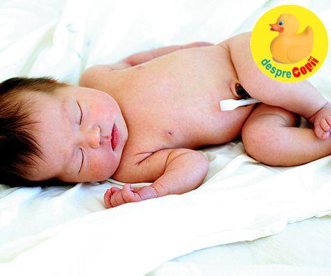 Ingrijirea buricului bebelusului - sfatul medicului