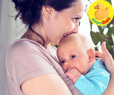 In brate la mami bebelusul simte mai putina durere. Studii care confirma importanta contactului cat mai strans cu bebelusul