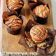 Cupcakes pentru mic dejunul indragostitilor